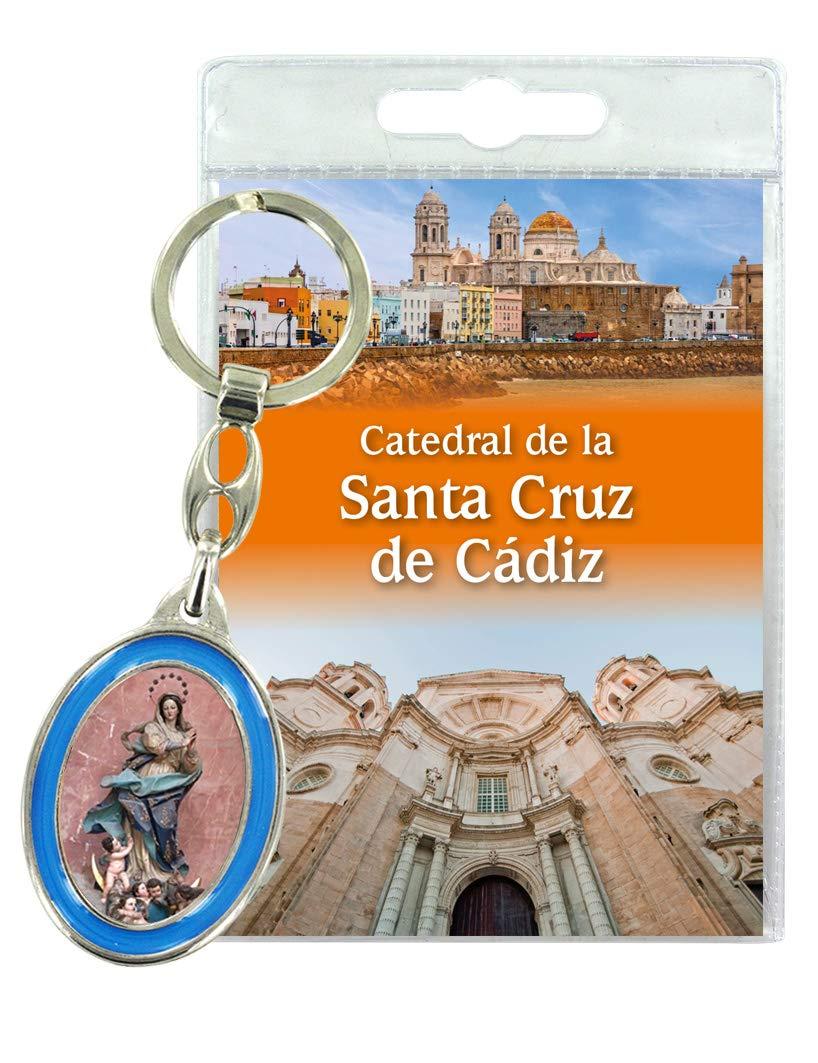 Ferrari & Arrighetti Catedral de Cadiz - Llavero con oración ...