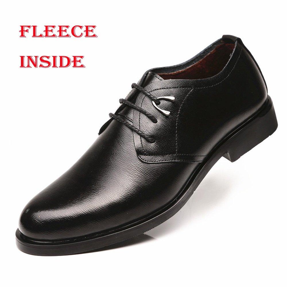 HYF Klassische Herren-Halbschuhe aus PU-Leder PU-Leder PU-Leder mit Schnürung und weicher Sohle und Flache Schuhe für Schuhe 6e6a59
