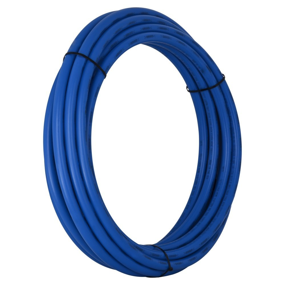SharkBite PEX PipeTubing 3/4 Inch, Blue, Flexible Water Tube, Potable Water, U870B50, 50 Foot Coil