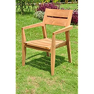 61UF4Vyx5HL._SS300_ Teak Dining Chairs & Outdoor Teak Chairs
