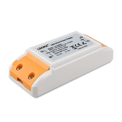 83 opinioni per 36W LEORX LED Transformer Driver ,LED Power Supply DC12V 2A Trasformatore G4