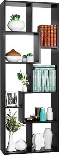 Homfa Bookcase,TV Stand 8-Cube Bookshelf