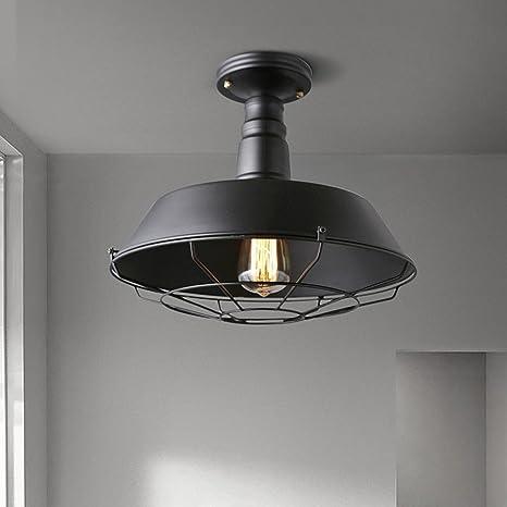 Retro plafón industriales estilo vintage iluminación de ...
