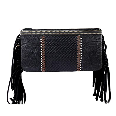 Amazon.com: Bundle de piel embrague bolso w cartera de luz ...