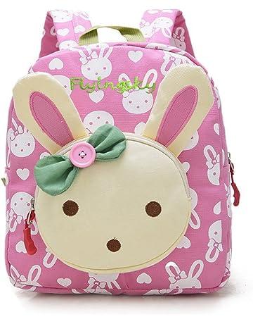 Flyingsky Rabbit Animals Kids Book Backpack Baby Girls School Bag Pink 5bc5e3bcb0cbd