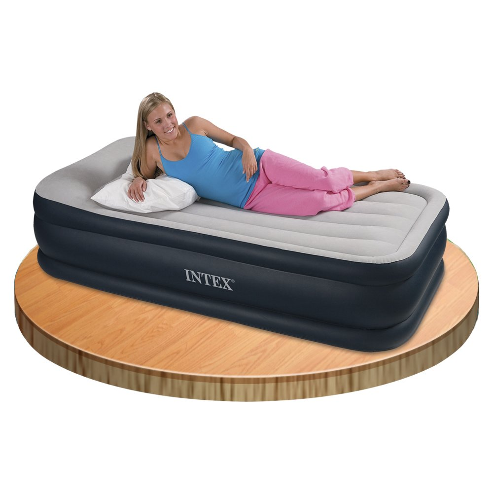 Intex Deluxe Pillow Rest Raised Air Bed