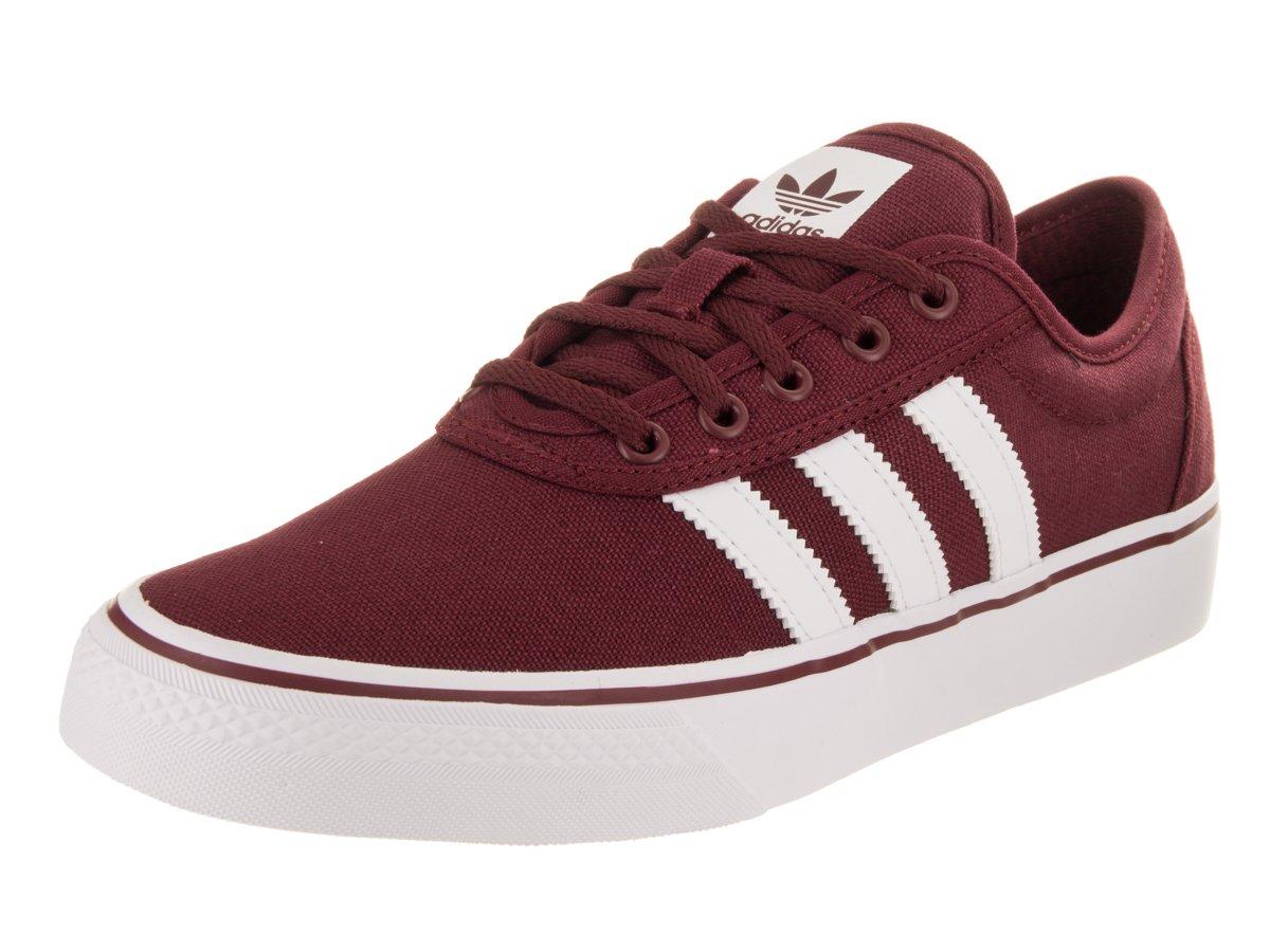 Adidas Men's Adi-Ease Lace up Sneaker B01N9FILRG 5 Men / 6 Women M US|Collegiate Burgundy/Footwear White/Collegiate Burgundy