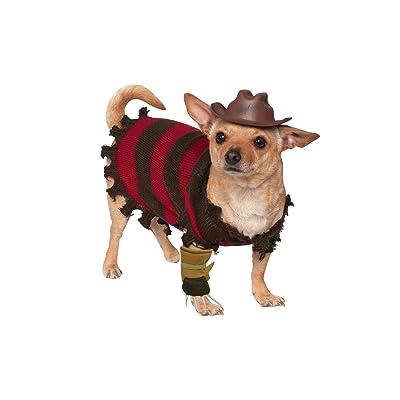 Rubie's A Nightmare on Elm Street Freddy Krueger Pet Costume, Small: Pet Supplies