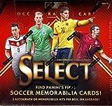 2015 Panini Select Soccer box (12 pk, THREE Memorabilia and/or Autograph cards per box!)