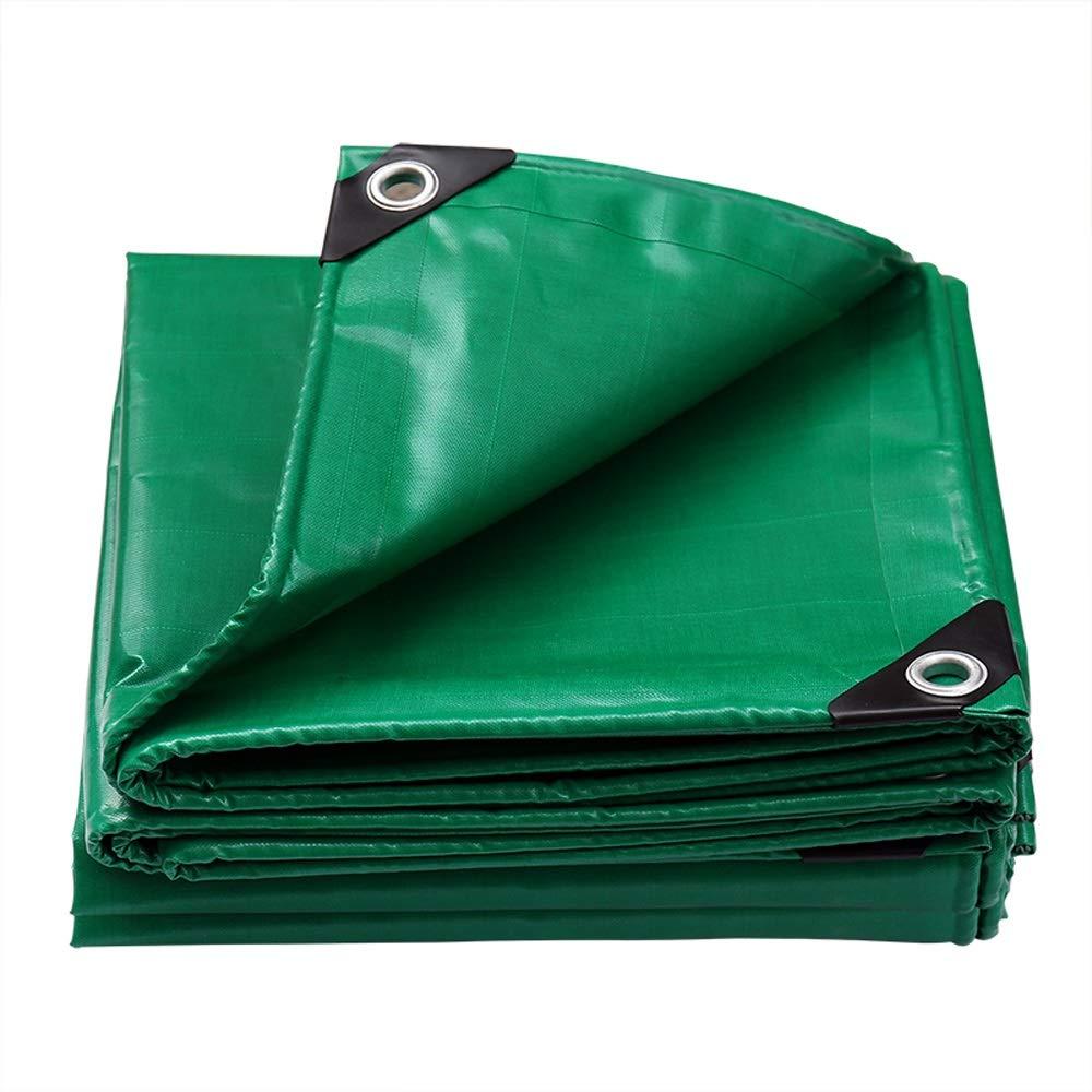 XX Tarpaulin XiaoXIAO BÂche extérieure bÂche imperméable Double Face bÂche imperméable bÂche d'isolation Pare-Vent Pare-Brise en Tissu Pare-Brise, Vert, 16 Tailles BÂche (Taille   3mX6m)  3mX6m