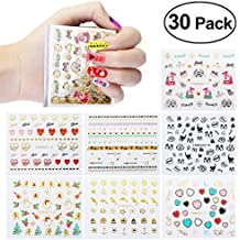 Nail Stickers, ETEREAUTY Nail Art Stickers Decals New DIY Nail Design 3D Sticker...