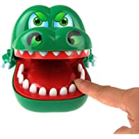 Axifo Fun Crocodile Dentist Bite Finger Pull Teeth Game Children Kid Toy Gift Prank Toys , 1 To 4 Players, Ages 4 And Up