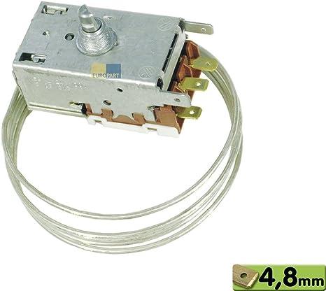 Termostato k59-l2684 de l1250 Ranco Frigorífico como Bosch/Siemens 054182: Amazon.es: Grandes electrodomésticos