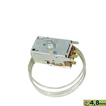 Termostato k59-l2684 de l1250 Ranco Frigorífico como Bosch/Siemens 054182