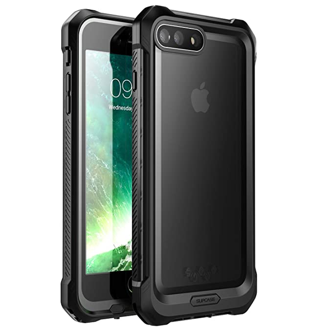 release date 9370f 6e691 iPhone 8 Plus Case, iPhone 7 Plus Case, SUPCASE [Unicorn Beetle Storm]  Waterproof Full-Body Rugged Case with Built-in Screen Protector for Apple  ...