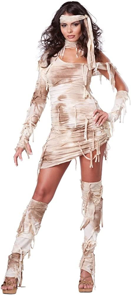 Mystical Mummy Horror Costume