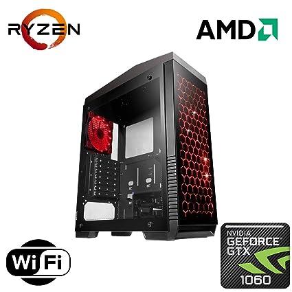 Amazon Com Custom Built Gaming Desktop For Fortnite Pubg Pc Amd