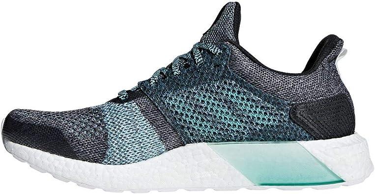adidas Ultraboost St Parley, Zapatillas de Running Hombre, Gris (Carbon S18/carbon S18/blue Spirit S11), 41 1/3 EU: Amazon.es: Zapatos y complementos