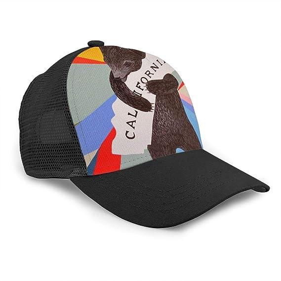 Gorra de béisbol Unisex con diseño de Oso Grizzly de California ...