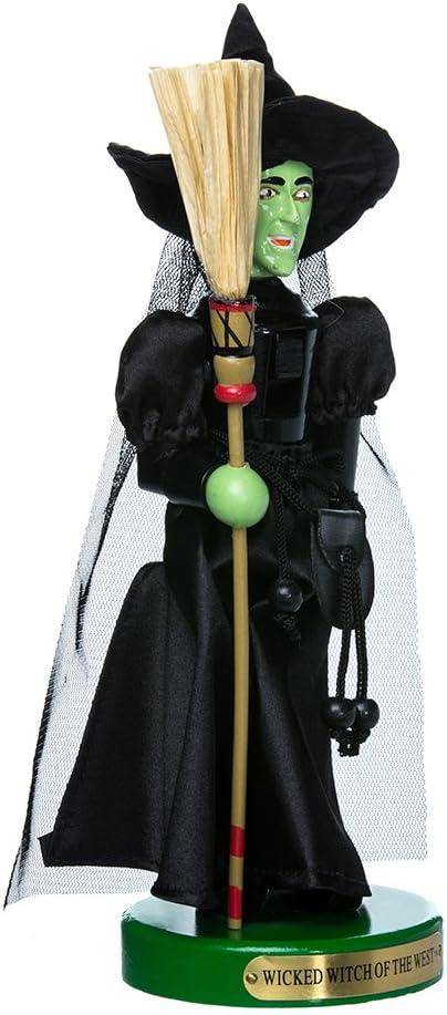Kurt Adler 11-Inch Wizard of Oz Wicked Witch Nutcracker