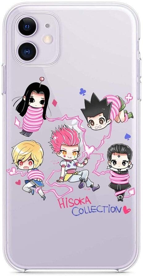 Amazon.com: The Case for iPhone Xr Japan Anime Hunter HXH Anime Hunter X Hunter 3 Soft Silicone Phone (2, iPhone Xr)