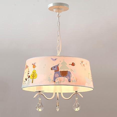 tkind Modern Lámpara colgante LED Ojos Proteger iluminación ...