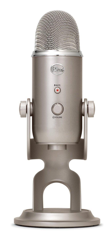 Blue Yeti USB Microphone, Platinum (Renewed) by Blue Microphones (Image #2)