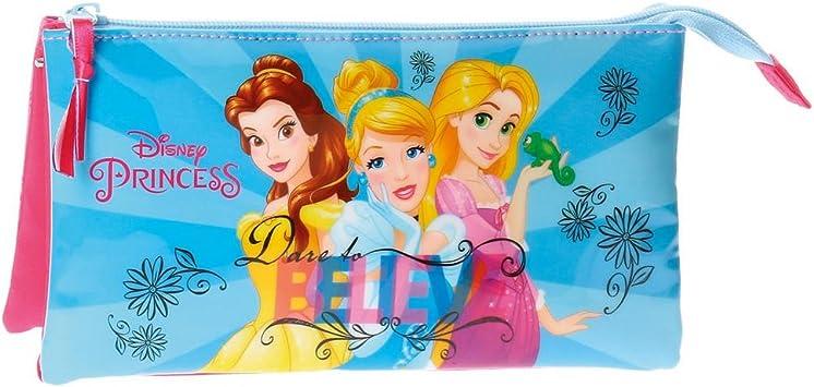 Princesas Disney-4084361 Neceser Estuche portatodo Tres Compartimentos, Multicolor, 22 cm (Joumma 4084361): Amazon.es: Juguetes y juegos