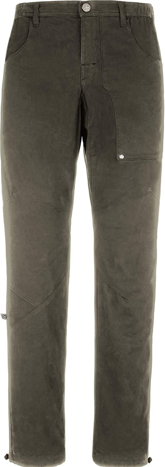 E9 Fuoco Pants Men warm Grau 2018 Hose lang