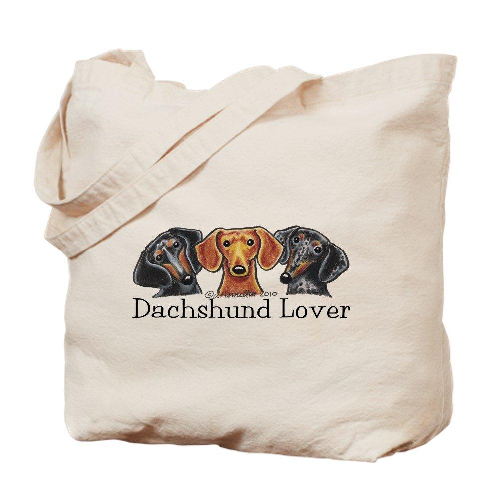 CafePress – Dachshund Lover – ナチュラルキャンバストートバッグ、布ショッピングバッグ B01JNDN13W