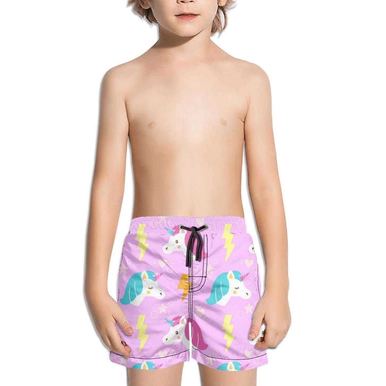 Etstk A Unicorn Kids Durable Trunks for Boys