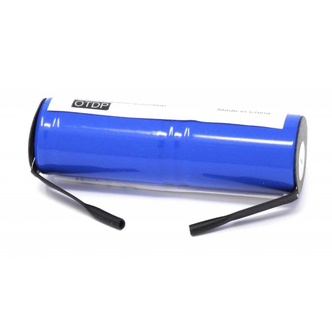 akku-net Batería para cepillo de dientes marrón tipo S de rwt1688, 2,4 V, NiMH: Amazon.es: Electrónica