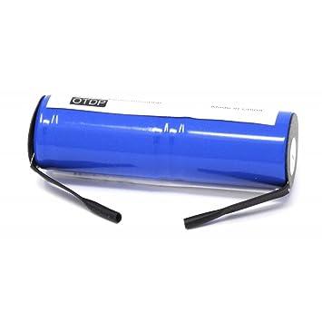 Batería para Cepillo de Dientes Braun Modelo RS-MH 3941: Amazon.es: Electrónica