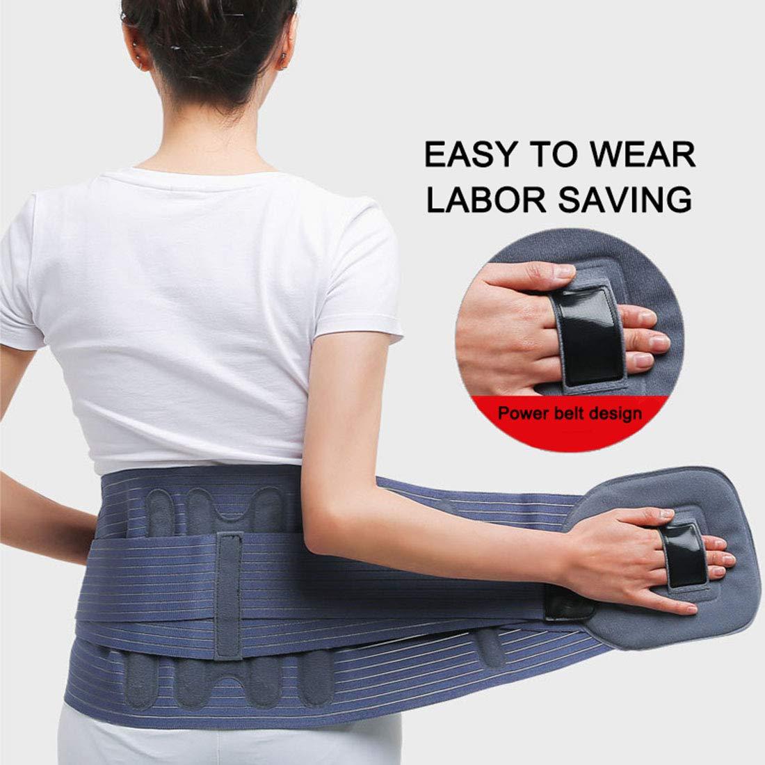 Women Body Shaping Lumbar Belt Men Running Waist Band for Yoga Fitness Training Posture Correction Ball Sports Etc,Lumbar Disc Herniation Strain Fixing Strap