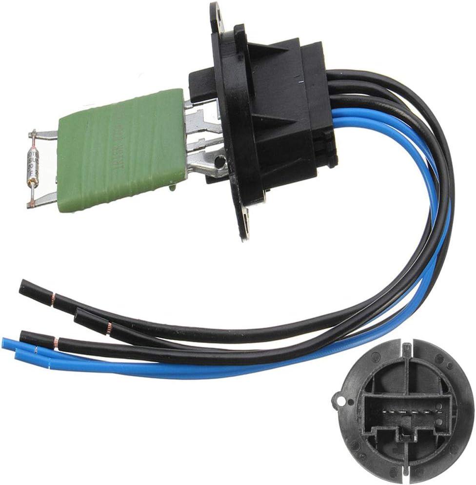 CGHDSF Chauffe-Heater Voiture et Harnais de c/âblage Connecteur 6445ZL 6445KL 6450JP pour 206 307 pour Citroen C3 Picasso Xsara