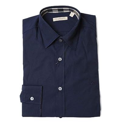 644080c946d BURBERRY Homme 3991157 Bleu Coton Chemise  Amazon.fr  Vêtements et ...