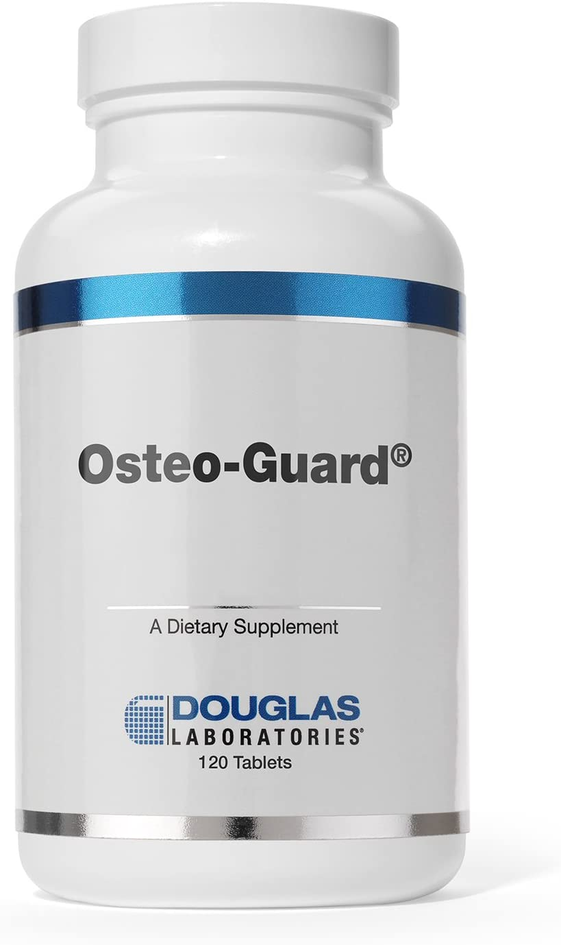Douglas Laboratories – Osteo-Guard Plus Ipriflavone – Calcium with Ipriflavone, Vitamins, Minerals to Support Bone and Joint Health* – 120 Tablets