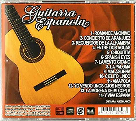 Guitarra Española...: Alex Blanco: Amazon.es: Música