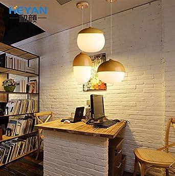 Amana Modern Minimalist Schlafzimmer Lampe Studie Kinderzimmer Kronleuchter  Lampe Restaurant Lampe Single Head Muttern Without Light