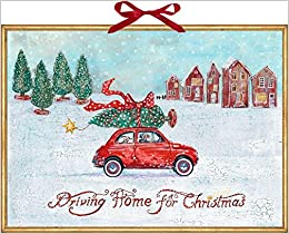 Driving Home For Christmas.Wandkalender Driving Home For Christmas 4050003945385