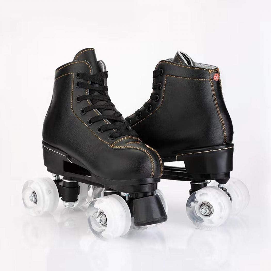 Gets Roller Skates Classic High-top for Adult Outdoor Skating Light-Up Roller Skates for Women and Men