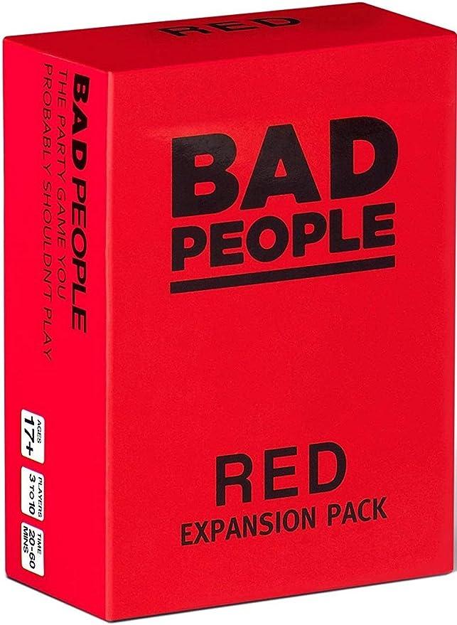 BAD PEOPLE Paquete de expansión Rojo (El Juego de Fiesta Que ...