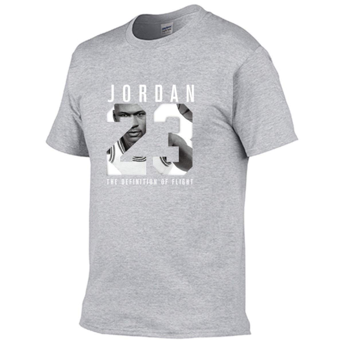 1aab4380615c Amazon.com  Jordan t Shirts Jordan 23 Men T-Shirt Swag T-Shirt Cotton Print  Men T Shirt  Clothing