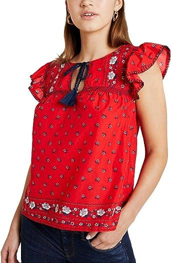 Blusa Pepe Jeans Carlota Rojo XL Rojo: Amazon.es: Ropa y accesorios