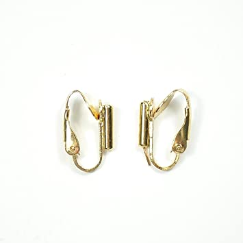 e1ea5a5d1 3 x Pairs Pierced to Clip-On Earring Converters for Stud Earrings ...