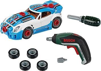Comprar Theo Klein 8630 Set de tuneado, Coche desmontable con accesorios de tuneado, Con destornillador eléctrico a pilas, Medidas del embalaje 30 cm x 6.5 cm x 25 cm, Juguete para niños a partir de 3 años
