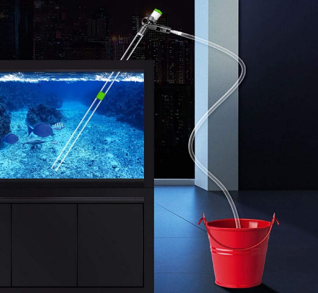 Koojawind Amortiguador de Agua para Acuario, Aspirador de sifón ...