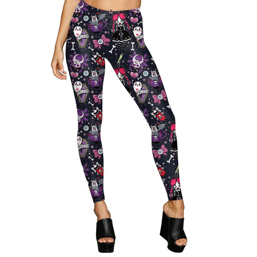 cinnamou Pantalon Mujer, Casual Yoga Leggins Slim Fit ...