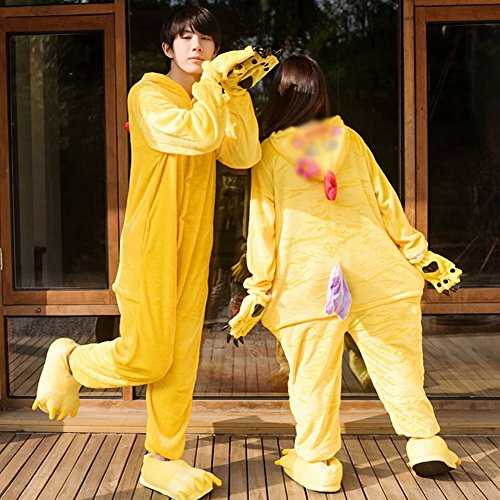 Ispessimento pigiami Cosplay Animale Scarpe Inverno Costume Usura Pigiami Di One Unisex s Piece Peluche Deed Adult Svago xFn6wvqHTn