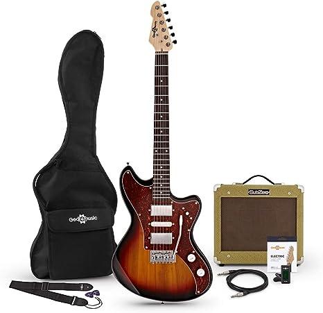 Guitarra Electrica Seattle + Pack de Ampli SubZero V35RG ...